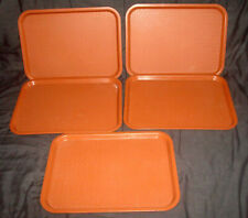 5 Vintage Le Bean Products Baraboo Wisconsin #5719 Tv Lunch Cafeteria Trays