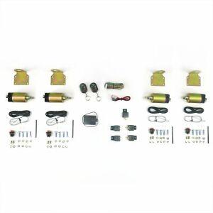 4 Door 8 Function 50 Lbs Remote Shaved Door Popper Kit