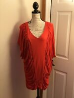 New York & Company Medium Coral Dress