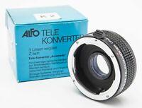 Alfo 2x 2 x Tele Konverter Converter MC K2 -  Pentax PK OVP