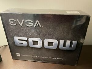 EVGA 600 W1 80+ WHITE 600W Power Supply - 100W10600K1