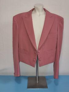 Bill Wyman personally worn Rolling Stones Archive dusty rose wool jacket history