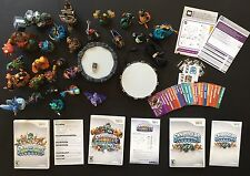 Big Lot of Nintendo Wii Skylanders – 3 Games, 2 Portals, – 28 Characters!!!