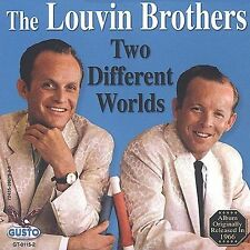 Two Different Worlds by The Louvin Brothers (CD, Oct-2003, Gusto Records)