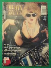 HARLEY - HEAVY DUTY - BELT UP - June 1992 #7