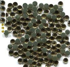 720 Rhinestone 3mm Lt. AMBER  Hot Fix 5 Gross