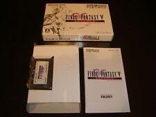Final Fantasy V Nintendo Game Boy Adv Japan