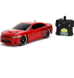 Jada Toys Big Time Muscle Hyperchargers RC - 2015 Dodge Charger SRT Hellcat, ...