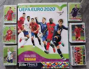 Panini Road to Euro 2020  Empty Album+ complete stickers set  Balkan version