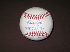 NEW YORK YANKEES GREAT LUIS SOJO AUTOGRAPH SIGNED INSCRIBED BASEBALL COA