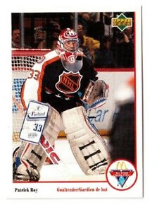 1991-92 UPPER DECK MCDONALDS # Mc-8 PATRICK ROY !!  60