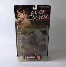 McFarlane Toys Alice Cooper Action Figure (Sealed) Rock Music Memorabilia, Spawn