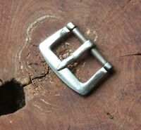 Vintage watch buckle rare part early 1940s/50s NOS Stainless Steel 13mm opening