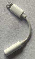 Puerto Adaptador de Iluminación todos iPhone a 3.5mm Convertidor Jack de auriculares aux llamadas