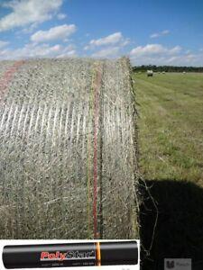 Ballennetz Rundballennetz Netz für Heu + Stroh PolyStar® 1,25 x 2000m (0,08€/1m)