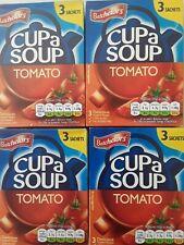 Batchelors Cup a Soup-Tomate x 4 boîtes UK Stock datée du 01/2022 en vrac Achete...