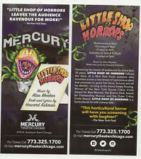 Little Shop of Horrors Mercury Theater Chicago 2019 Advertising Flyer