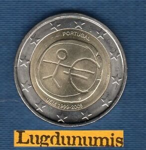 2 euro Commémo Portugal 2009 EMU UME Portugal