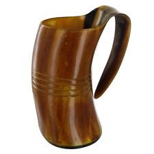 Natural Handmade Midsummer Celebratory Viking Horn Tankard
