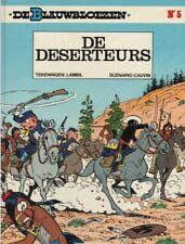 Blauwbloezen 05: De Deserteurs.           Hardcover!