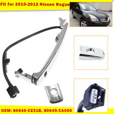 Front Left Chrome Outside Door Handle Smart Entry For Nissan Rogue 2010-2013
