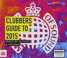 Ministry of Sound Clubbers Guide to 2015 [New & Sealed] Digipack CD