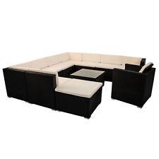 Polyrattan Gartenmöbel Lounge Rattan Gartenset Design Sitzgruppe Rattanmöbel Top