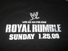 "2009 ""ROYAL RUMBLE"" Detroit JOHN CENA vs JOHN ""Bradshaw"" LAYFIELD (XL) T-Shirt"