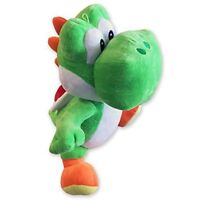 "OFFICIAL NINTENDO SUPER MARIO 12"" YOSHI PLUSH SOFT TOY TEDDY NEW WITH TAGS"