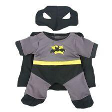 """BATMAN BAT BEAR OUTFIT - 16""""/40cm TEDDY BEAR CLOTHES & BUILD YOUR OWN BEAR"""