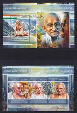 Guinea 2013 Mahatma Mohandas Gandhi Humanist India postage stamps MNH** 2S