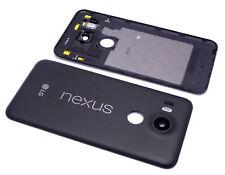 Original LG Nexus 5X H791 Akkudeckel Back Cover Kamera Glas Antenne LED Black