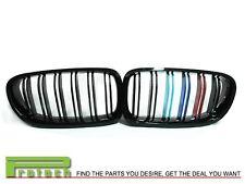 BMW F10 Sedan M5 Type M Tri 3 Color Gloss Black Front Grille  528i 535i 550i