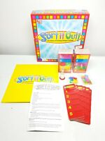 Sort It Out Board Game University Games Complete Cards Still Sealed Inside