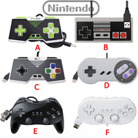 Nintendo Wii / Wii U Classic Controller Pro, SNES NES USB Controller For PC/Mac