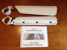 Yamaha YZ125 YZ250 YZ 125 250 1991 92 93 94 95 Fork Guards WHITE by UFO NEW!