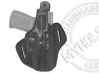 OWB Thumb Break Leather Belt Holster Fits CANIK TP9