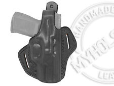 OWB Thumb Break Leather Belt Holster Fits CANIK TP9