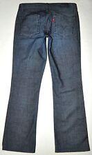 Levi's Capital E Women's Swank Dark Blue Low Slim Boot Cut Jeans 29 X 31 AWESOME