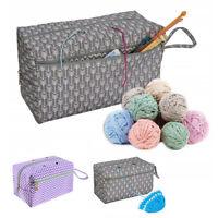 Fäden Stricktasche Stricken Häkeln  Tasche Aufbewahrung Korb Wolle Garn Fäden