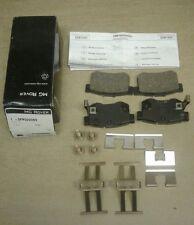 MGZR 160 VVC MGZS 180 REAR BRAKE PADS  (New Genuine MG) SFP000080 & FITTING KIT
