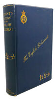 Rudolf Gneist, A. H. Keane THE STUDENT'S HISTORY OF THE ENGLISH PARLIAMENT  1st