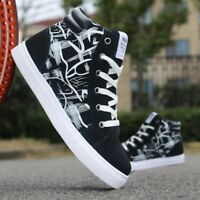 Hot Mens Casual High Top Sport Sneakers Athletic Running Casual Shoes Sneakers