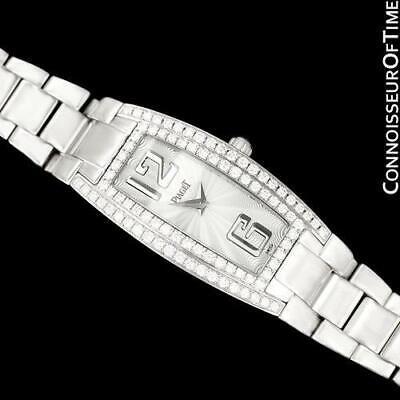 Piaget Limelight Mujer 18K Oro Blanco & Reloj con Diamantes -Venta - Menta