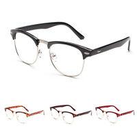 Retro Men's Glasses Eyeglass Frames Women Clear Lens Optical Spectacles