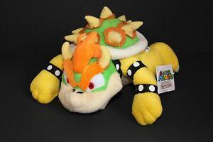 "New Super Mario Bros Series 10"" King Bowser Koopa Plush Toy Doll Stuffed Animal"