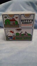 "Vintage 1976 Hello Kitty 5 3/4"" Plastic Jewelry Box Chest 3-Drawer"