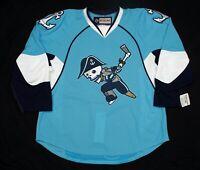 Blank Pro Stock Team Issue Jersey AHL Milwaukee Admirals Reebok Edge 2.0 CCM