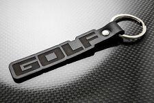 VW Golf Pelle Portachiavi keychain Schlüsselring porte-clés Mk1 Mk2 GTI 16 V Driver
