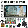 Double 2DIN Car Stereo MP5 Player with Backup Camera 7 Inch Touch Screen GPS USB